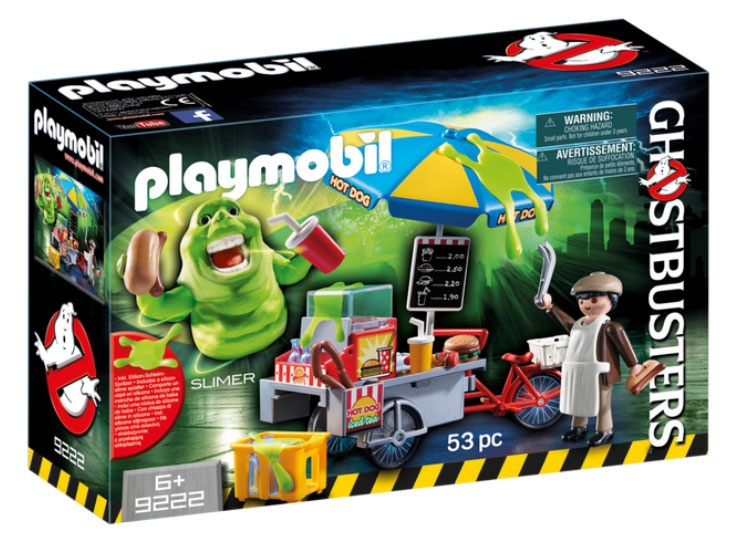 Playmobil 9222 Ghostbusters Slimer mit Hot Dog Stand