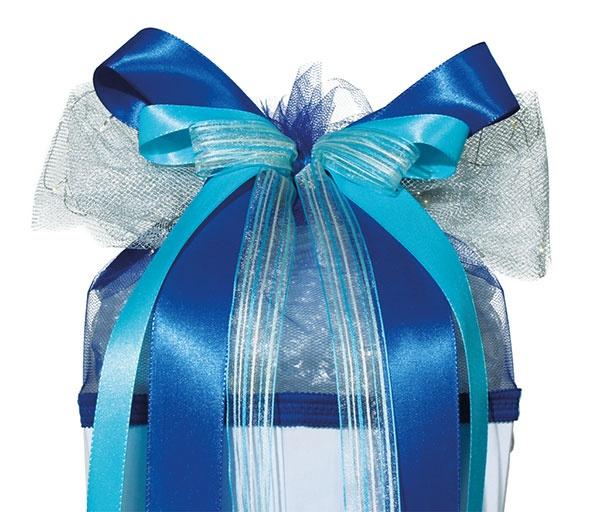 Roth LED Schultütenschleife Blue Star