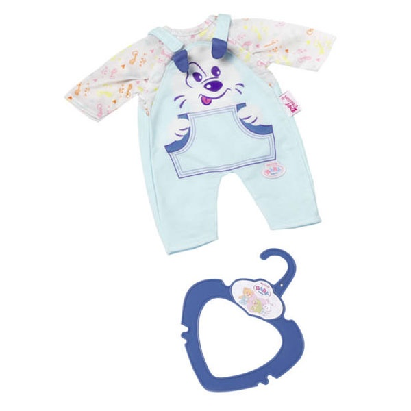 My little Baby Born Kleidung blau