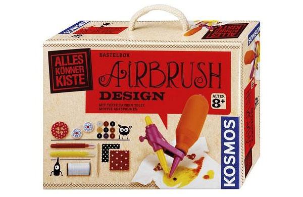 Bastelbox Airbrush Textil-Design Kosmos 60407