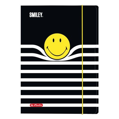 Herlitz Sammelmappe A4 Smiley Stripes