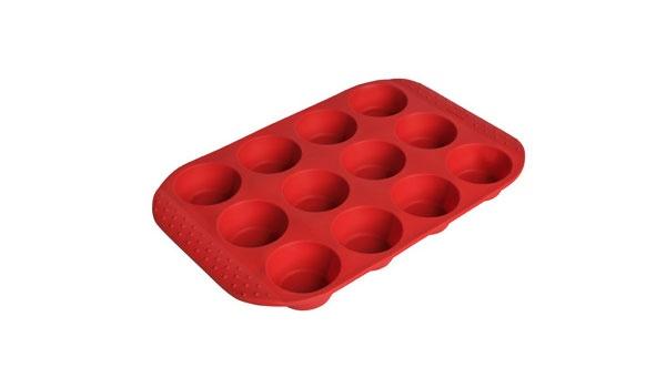 Kaiser Backform Inspiration Silikon Muffinform für 12 Muffin