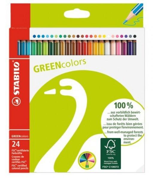 Stabilo GREENcolors 24 Stück