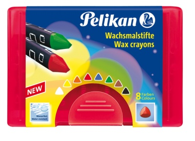 Pelikan Wachsmalstifte dreieckig wasserfest
