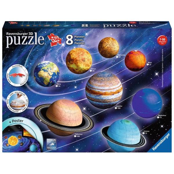 3D Puzzle-Ball Planetensystem von Ravensburger