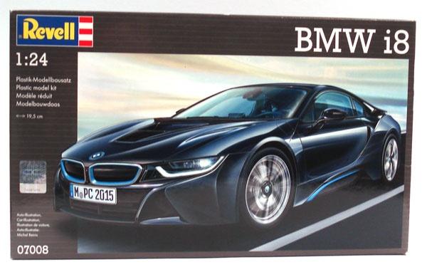 Revell 07008 BMW i8 1:24