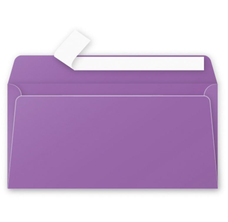 Briefumschläge DL 20 Stück violett