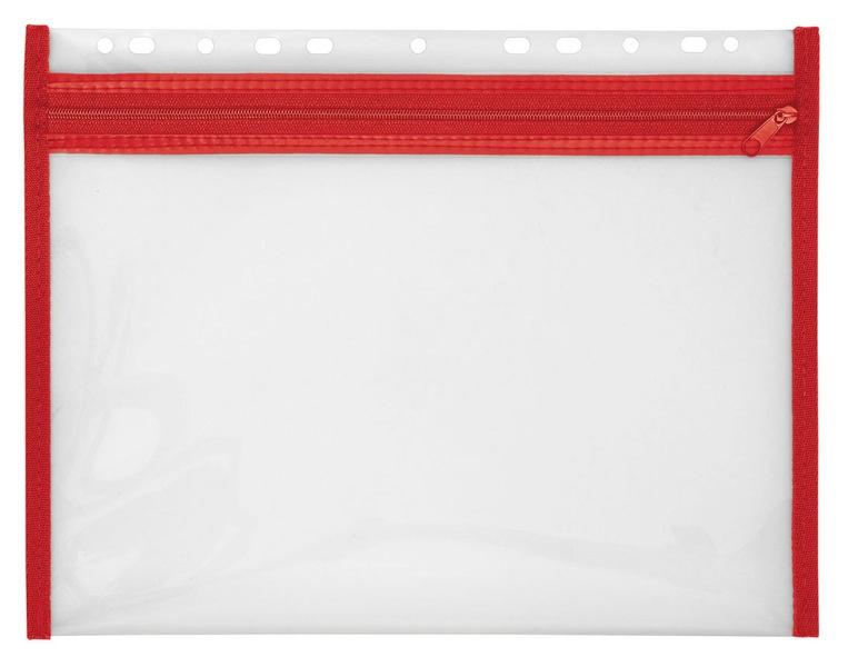 Veloflex Reissverschlusstasche Velobag XS rot