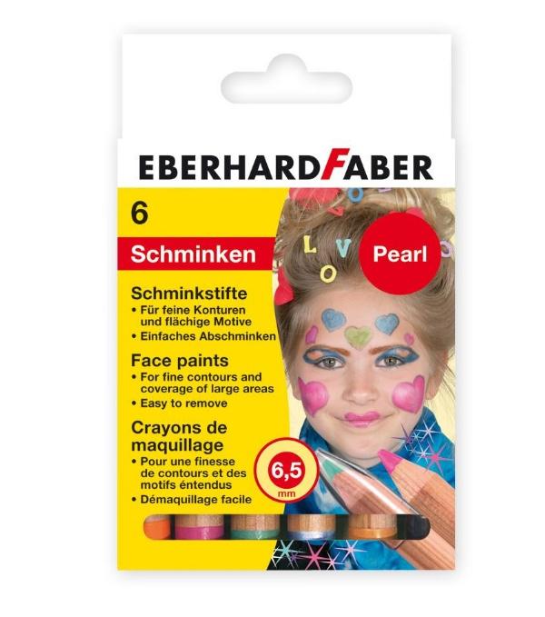 Faber Schminkstifte 6er Pearl