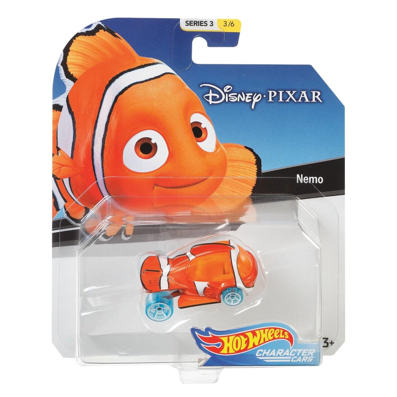 Hot Wheels Disney Character Car Nemo