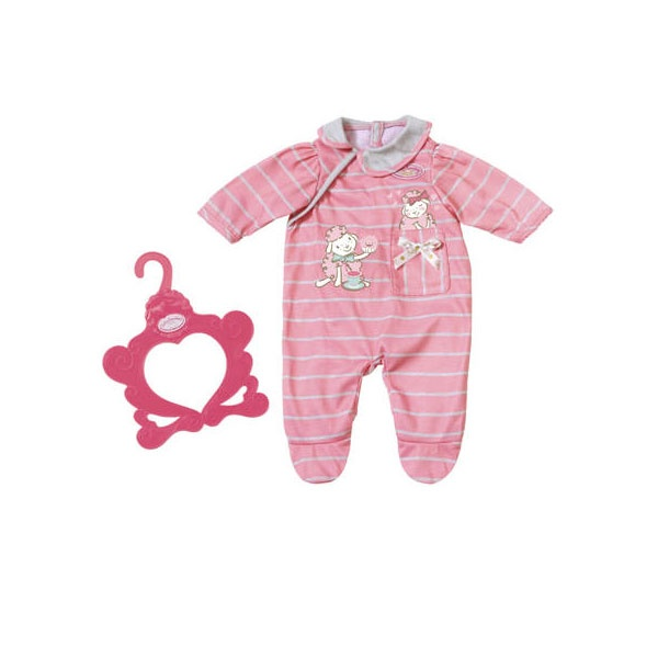 Baby Annabell Strampler lachsfarben rosa