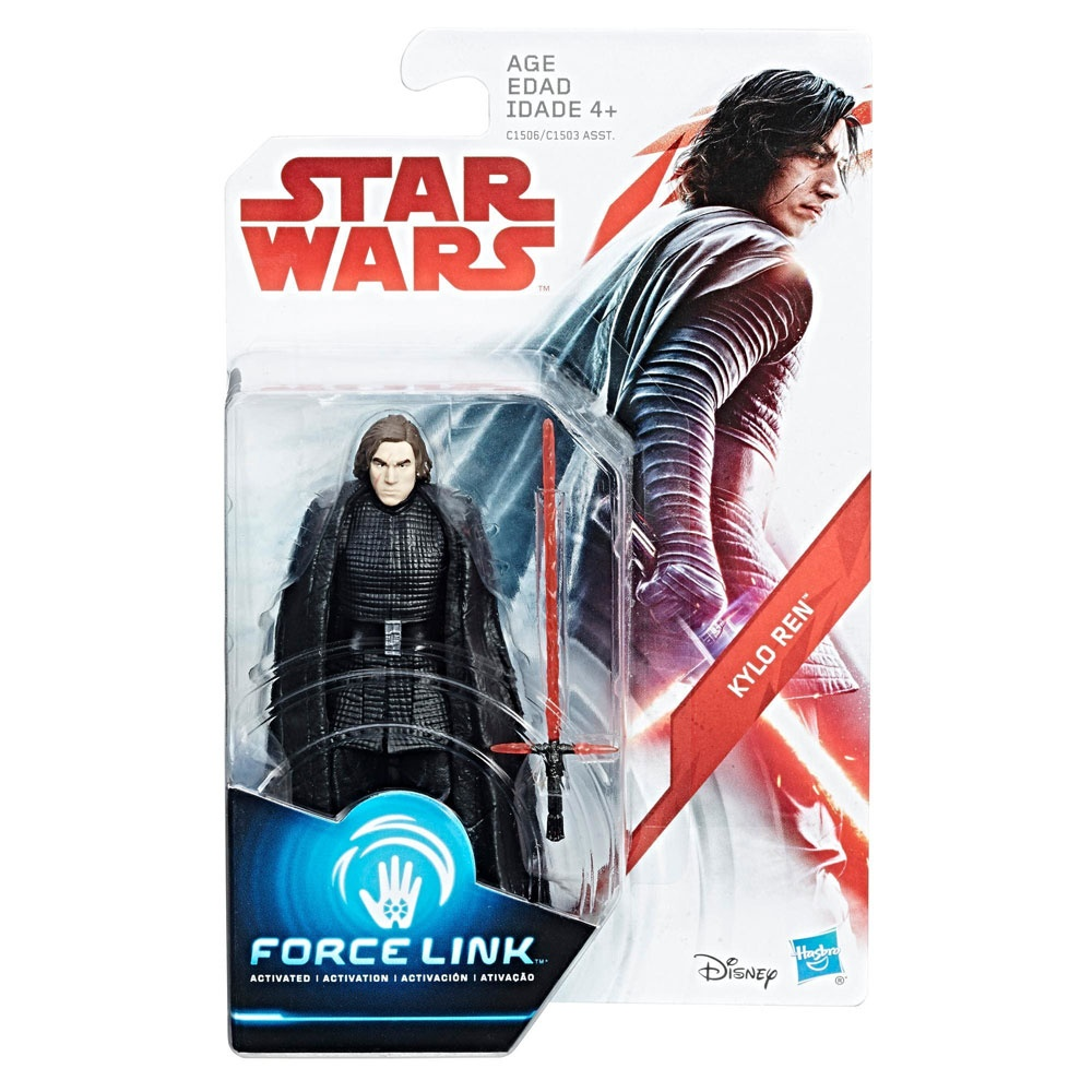 Star Wars Episode 8 Force Link Figur Kylo Ren