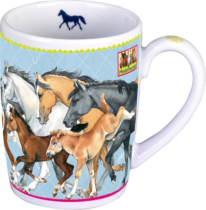 Spiegelburg Pferdefreunde Porzellan-Tasse
