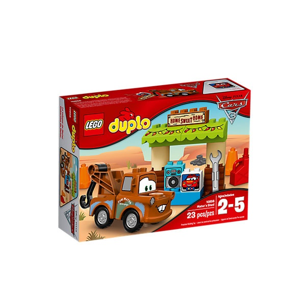 Lego 10856 Cars Hooks Schuppen