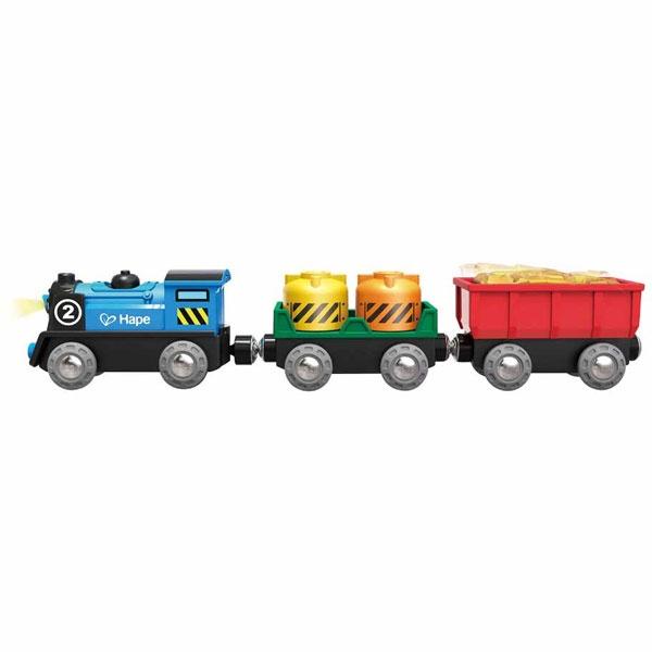 Hape Güterzug mit Batterieantrieb