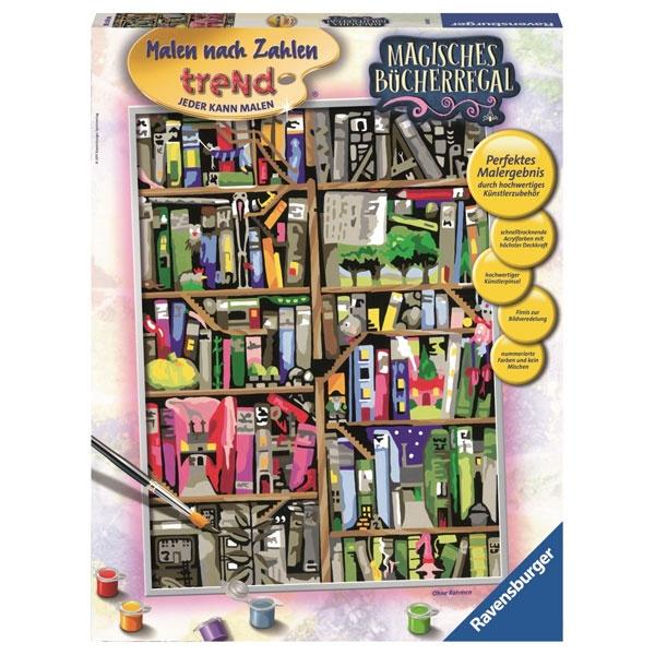 Ravensburger Malen nach Zahlen Magisches Bücherregal