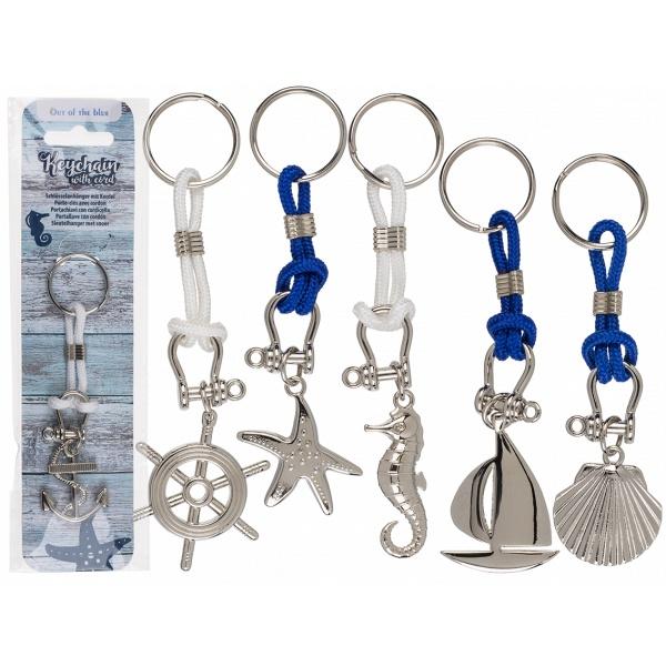 Metall Schlüsselanhänger Maritim