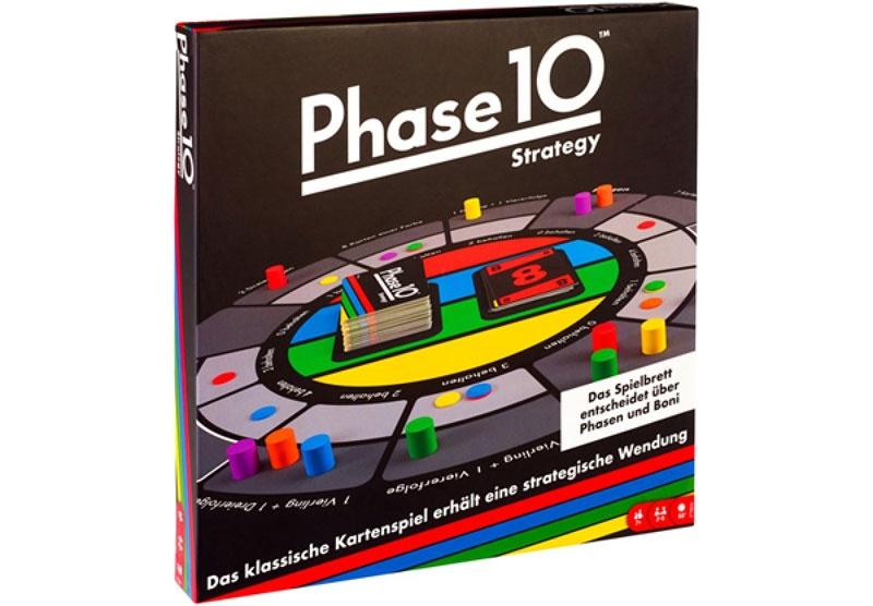 Phase 10 Strategy Brettspiel von Mattel