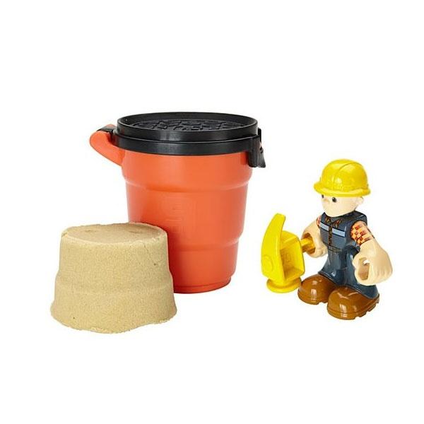 Bob der Baumeister Zimmermann Figur mit Sand