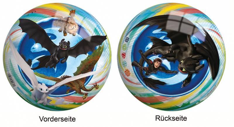 Ball mit Motiv Dragons 23 cm