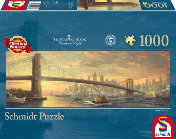 Schmidt Spiele Puzzle Thomas Kinkade Brooklyn Brigde, New