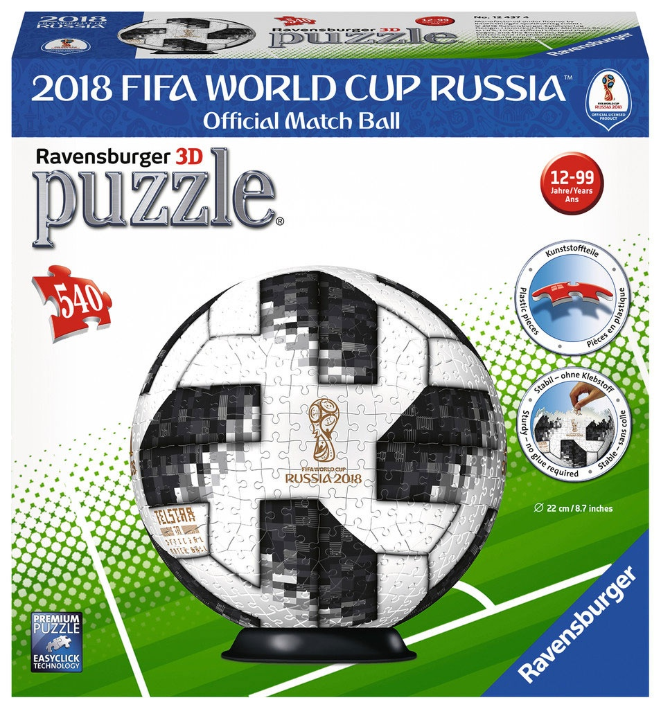 3D Puzzle Match Ball 2018 Fifa World Cup
