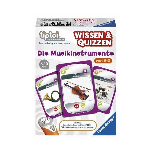 tiptoi® Wissen & Quizzen: Die Musikinstrumente