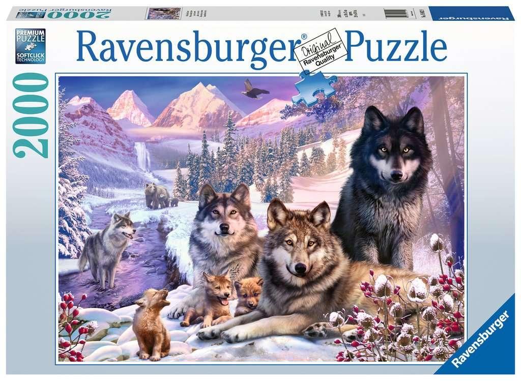 Ravensburger Puzzle Wölfe im Schnee 2000 Teile