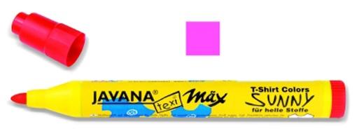 Kreul Javana texi mäx Sunny Stoffmalstift medium neonpink