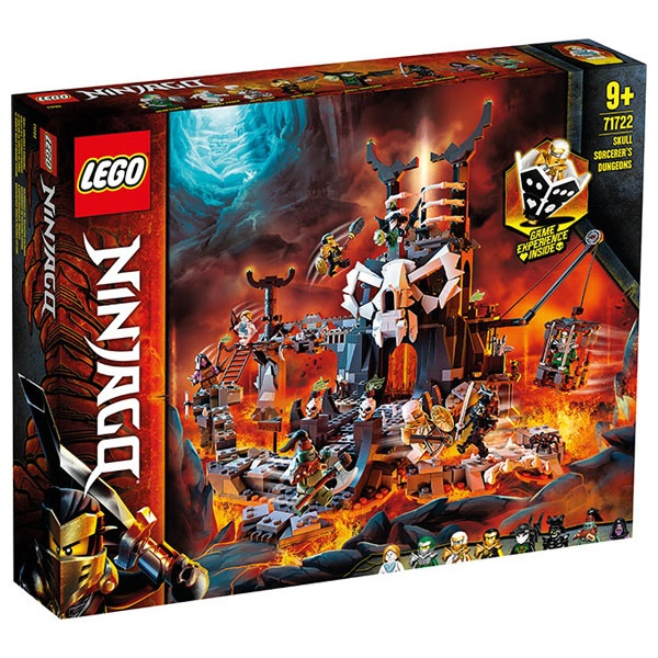 Lego Ninjago 71722 Verlies des Totenkopfmagiers