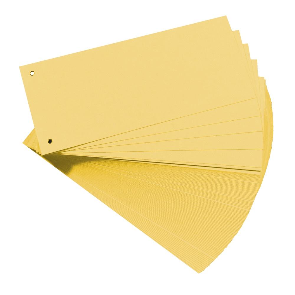 Trennstreifen 100er gelb