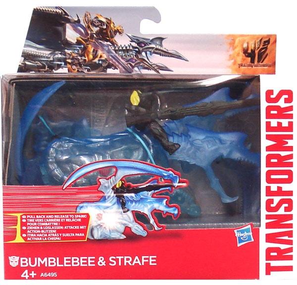 Transformers Age of Extincion Bumblebee und Strafe