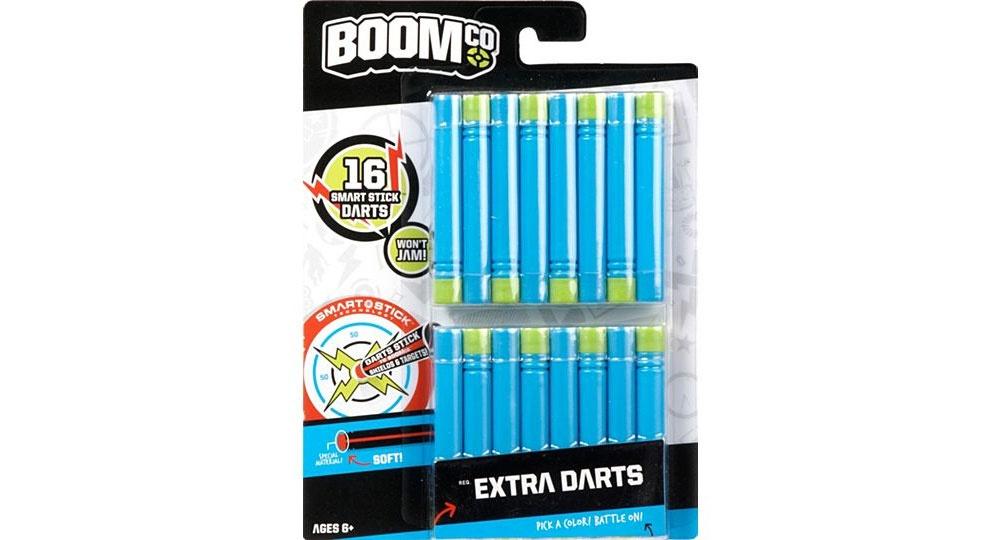 BOOMco Darts blau/gelb 16x