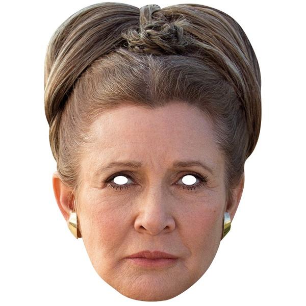 Kostüm-Zubehör Princess Leia Card Mask