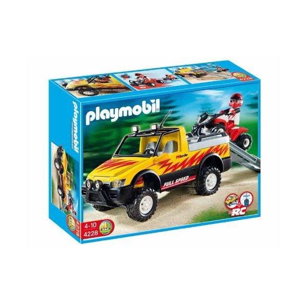 Playmobil 4228 RC Pick-Up mit Racing Quad