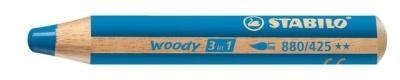 Stabilo Woody Farbstift kobaltblau
