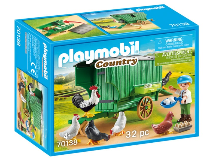 Playmobil 70138 Country Mobiles Hühnerhaus