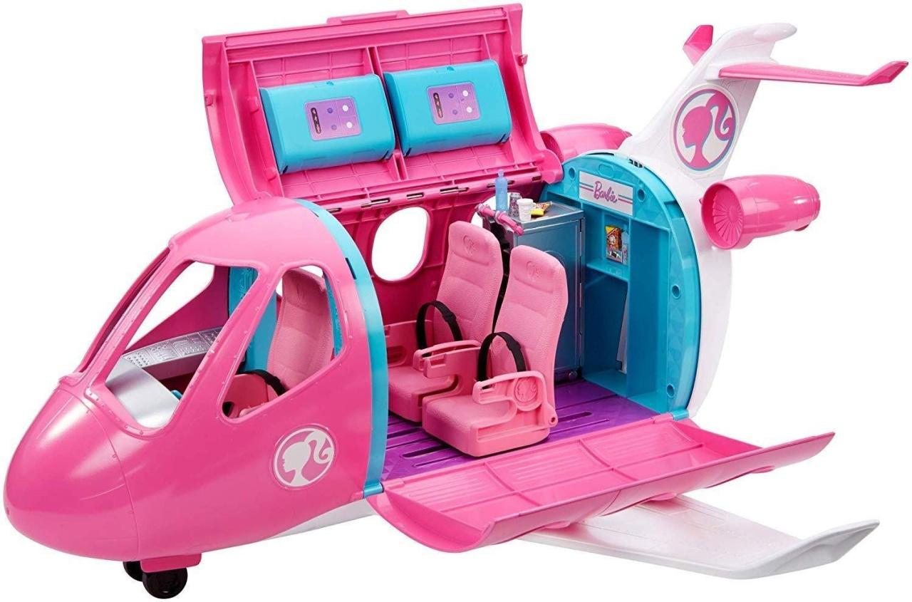 Barbie Reise Traumflugzeug GDG76