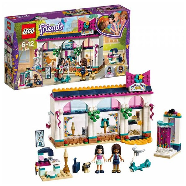Lego Friends 41344 Andreas Accessoire-Laden