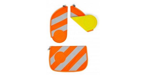 Ergobag Zubehör Cubo Sicherheitsset Reflektorstreifen orange