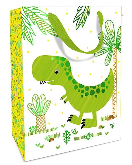 Geschenktasche Funny Dinos