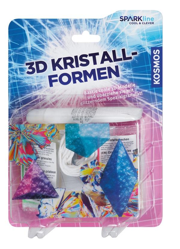Sparkline 3D-Kristallformen