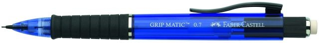 Faber Castell Druckbleistift Grip Matic 0,7 mm blau