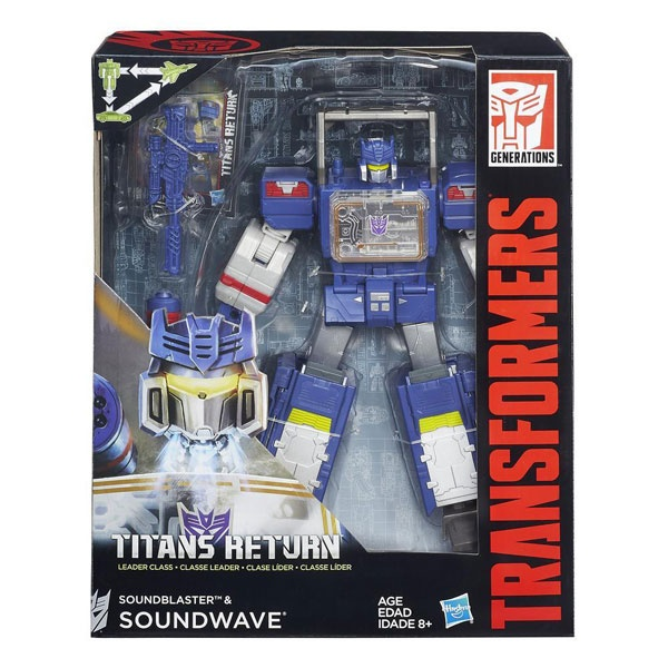 Transformers Titans Return Soundblaster und Soundwave