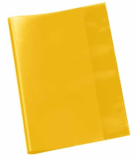 Hefthülle A5 gelb transparent