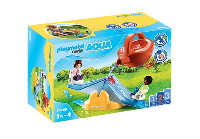 Playmobil 70269 1.2.3 Aqua Wasserwippe mit Gießkanne