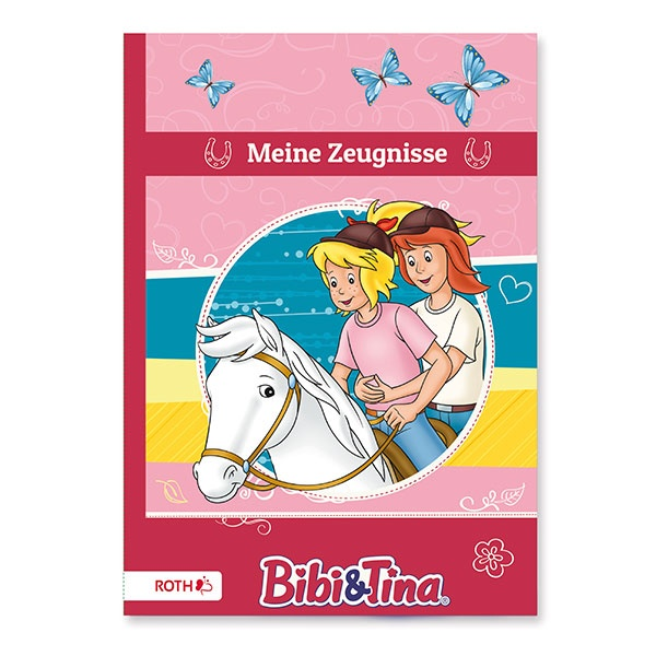 Roth Zeugnismappe Bibi und Tina