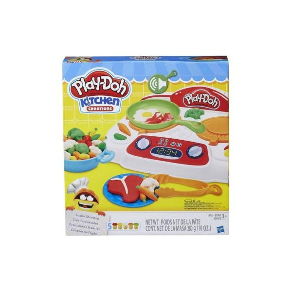 Play-Doh Kitchen Creations Brutzel-Herd