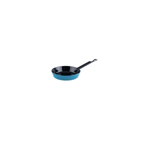 Riess Emaille Mini Emaillepfanne 16cm Color Blau