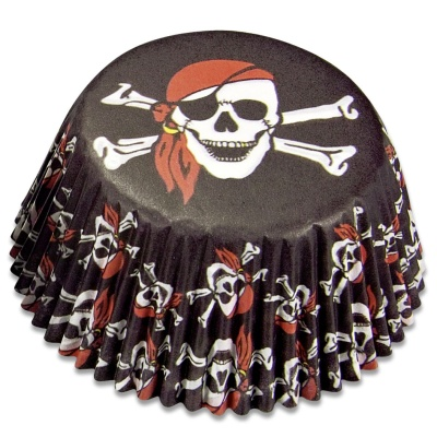 Muffinförmchen Pirat mini